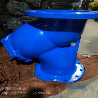 晋城市供应直销GL41H-10 DN350铸铁法兰过滤器 Y型过滤器 污水管道过滤器
