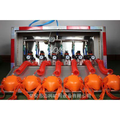 新型ZYJ-M6矿井压风自救装置生产厂家六人组面罩