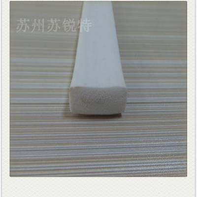 厂家直销硅胶发泡矩形密封胶条机械减震缓冲耐高温密封胶条