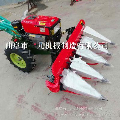 新疆塔城 多功能割曬機 手扶拖拉機前置收割機 四輪車前置割倒機 廠家直銷