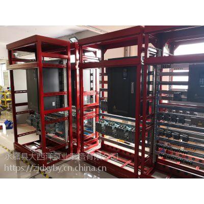 大西洋泵业供应消防泵自动巡检控制柜 ,一控八路消防巡检柜