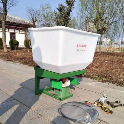 电动撒肥机的连接方法 拖拉机前置撒肥机 喷洒均匀的化肥抛洒机