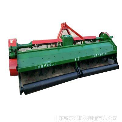 多功能拖拉机带秸秆还田机 药材灭茬还田机 秸秆麦茬小型粉碎还田机