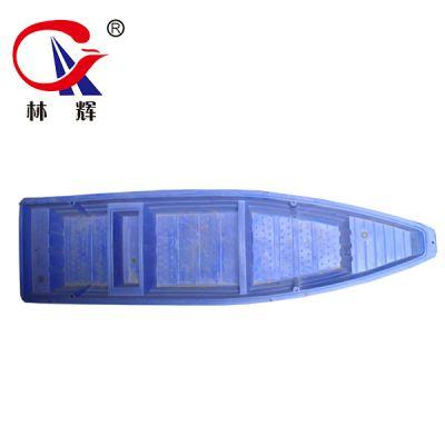江苏直供塑料船 5米双层捕渔船河道清理养殖打捞船 林辉秒发