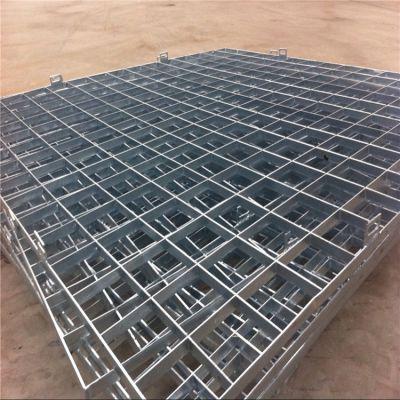 钢格板水沟板钢梯 兴来新型截水沟盖板 钢格板围栏现货供应
