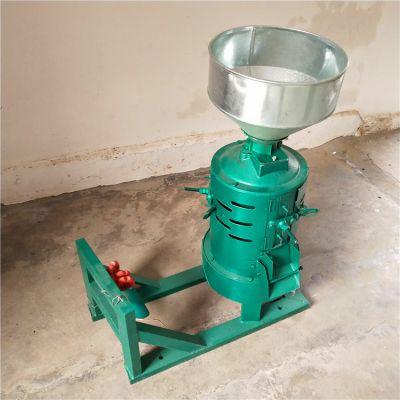 立式砂辊碾米机 小型电动节能脱皮机