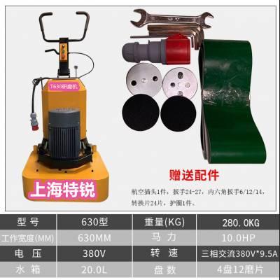 溧水12头混凝土研磨机 高淳地坪打磨抛光机 特锐12头地坪打磨机厂家