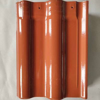 烧制古建瓦西班牙s瓦陶瓷彩瓦zhaojin陶瓷屋面瓦山东琉璃瓦厂家