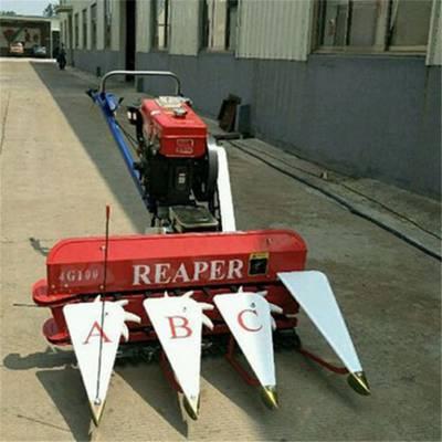小型100型谷草收割机圣通佩兰黑麦草收割机