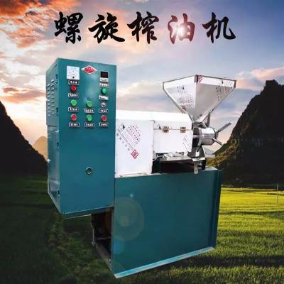 新型山茶籽榨油机商用大型多功能螺旋榨油机油坊专用榨油机械设备