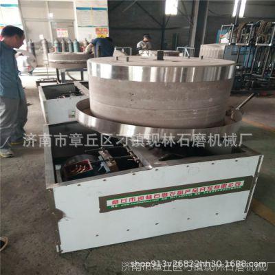 电动石磨机 石磨面粉机 石磨香油机 石磨豆浆机 全自动石磨磨面机
