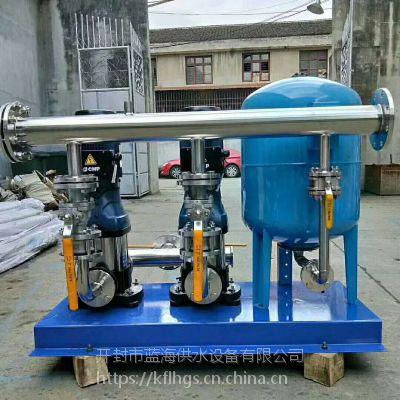 无负压供水恒压供水设备全自动定制加工开封市蓝海设备
