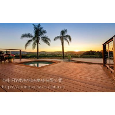 江阴木塑WPC共挤塑木PVC生态木墙板600*9长城板木塑盆厂家直销
