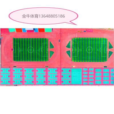 云南产地货源 塑胶跑道 学校体育场 小区路面 混合型 透气型 全塑型 复合型 水性型塑胶跑道