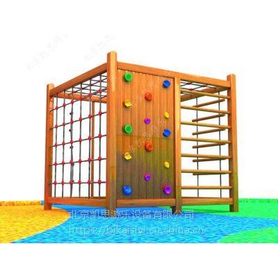 迷宫爬网,幼儿园攀爬架,木质组合滑梯,厂家直销定制儿童锻炼攀爬网