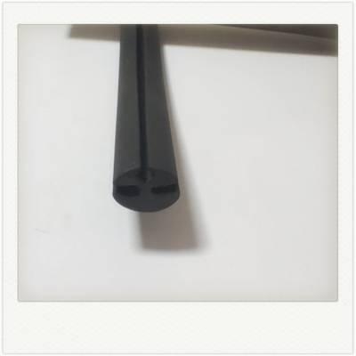 三元黑色耐磨工程水泥包边卡槽橡胶密封条