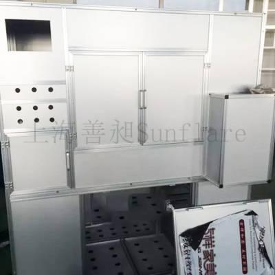重型柜架定制厂家上海善昶Sunflare机箱 铝合金