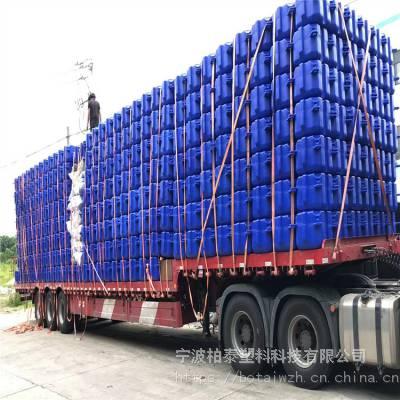 水上方块走廊浮桥 景区水面浮岛 组合式水上浮筒