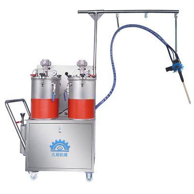 久耐机械树脂河流桌假水注胶机 完美替代人工