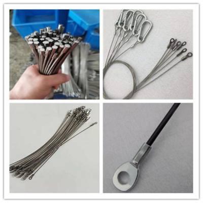 304不锈钢钢丝绳 涂胶钢丝绳 透明钢丝绳