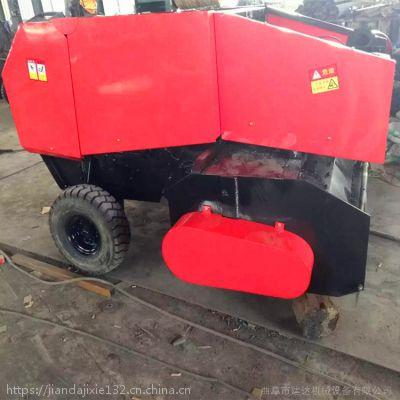 全自动稻麦玉米秸秆捡拾机 拖拉机打捆机