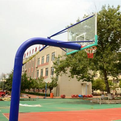 濮阳箱式升降篮球架 埋地篮球架厂家 中学篮球架价格