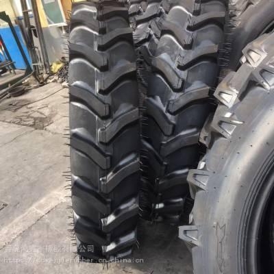 收割机防滑轮胎_人字花纹拖拉机车轮胎_耐磨人字花纹轮胎批发价格