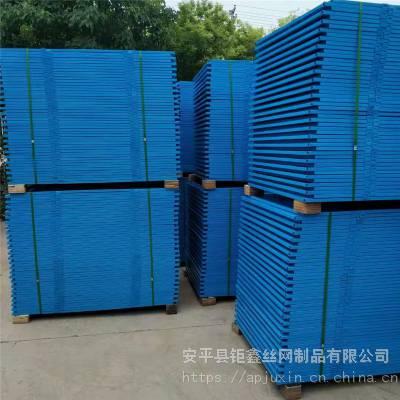 脚手架外挂安全网 爬架网常用材质 冲孔网镀锌处理 建筑防护钢网现货