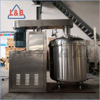 全不锈钢多功能高速分散釜 液压升降分散反应釜 油漆反应搅拌设备 各类加热冷却反应釜