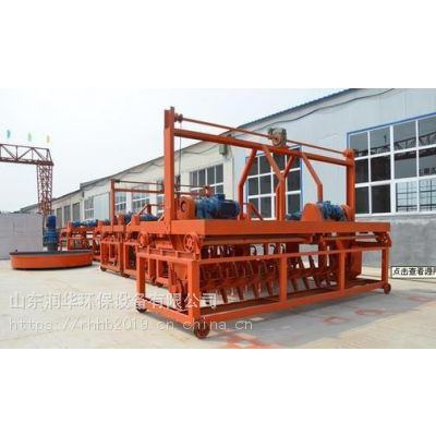 有机肥成套设备肥料加工新型翻抛机设备