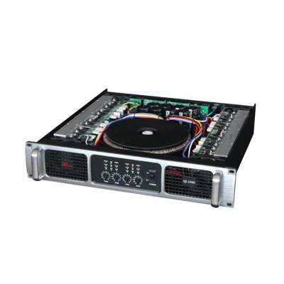 会议室系统设备厂家_4通道专业功放QI-2460