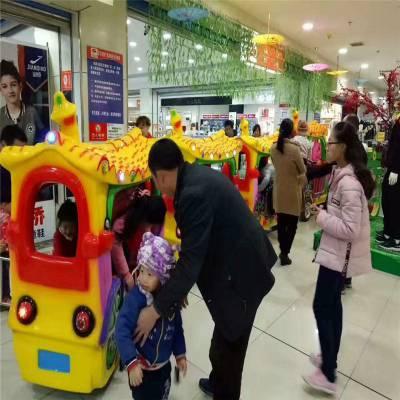 古典觀光火車游樂設備室內商場步行街兒童仿古無軌小火車娛樂玩具