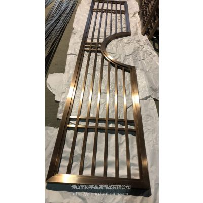 优质不锈钢屏风隔断,装饰不锈钢花格厂家