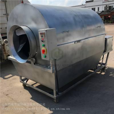 供应大型青稞面炒货机 智能电磁加热炒锅 滚筒炒货机
