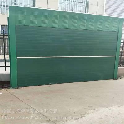 安徽合肥高速公路声屏障 定做室外空调机组隔声板 金属PC板声屏障