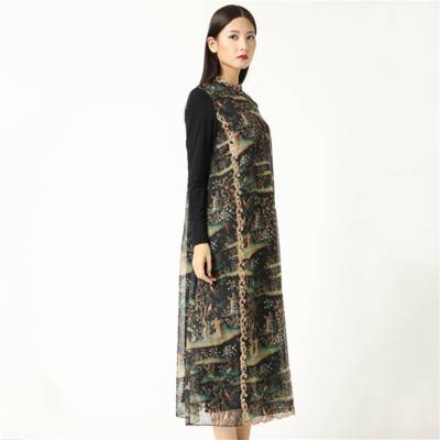 河北印花金丝绒服装定制批发市场在哪里_元亨服饰
