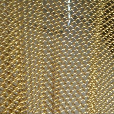 铝制装饰网帘金属装饰窗帘