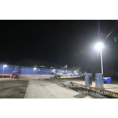 山东青岛鸿泰12V锂电路灯 60W太阳能路灯 LED太阳能路灯价格