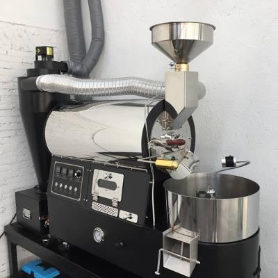 东亿新品BY-2KG咖啡豆烘焙机 工厂专用烘豆机 自动咖啡烘培机