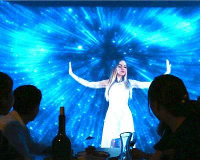 甘肃全息餐厅-全息餐厅3D墙面餐厅-【硕弘科技】(推荐商家)