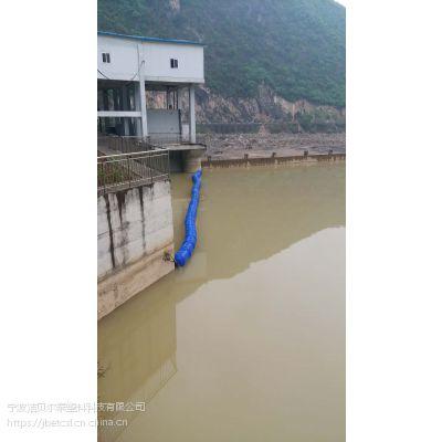水电站蓄水池装拦污栅图纸水面拦垃圾浮筒厂家
