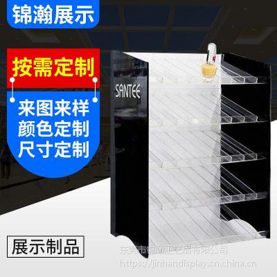 亚克力化妆品展示架 亚克力指甲油商品展示架 零售展架批发东莞厂家