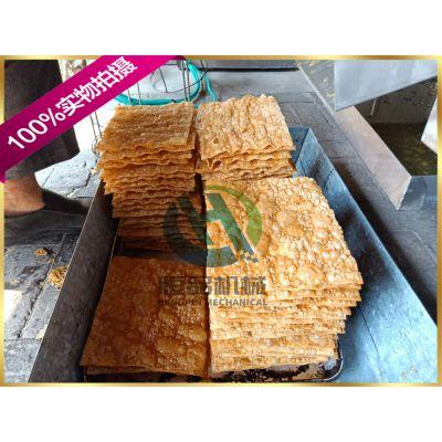 天津煎饼果子脆片油炸机设备 厂家直销薄脆油炸生产设备