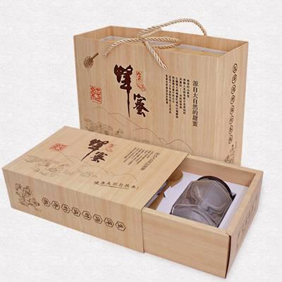 衡水市礼品盒厂 蜂蜜包装盒定做 精品礼盒加工