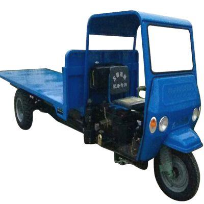 水泥混泥土白石灰装载运输三轮车厂家直销柴油斜斗建筑工程三轮车