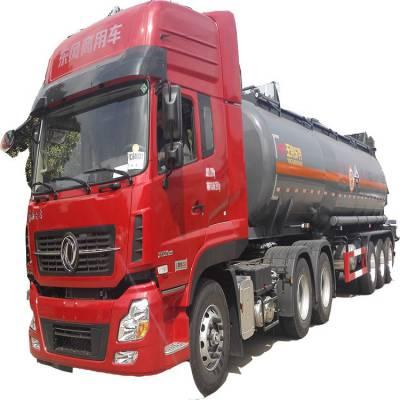 玉柴东特37立方氨水运输罐车尺寸 钢衬塑复合罐化工车
