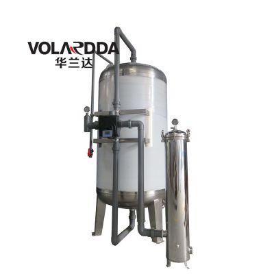不锈钢活性炭过滤器多少钱一套?华兰达厂家直销地下水吸附异味色泽胶体碳滤器