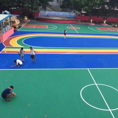 广东省丙烯酸球场材料_丙烯酸球场材料生产厂家_丙烯酸球场铺设