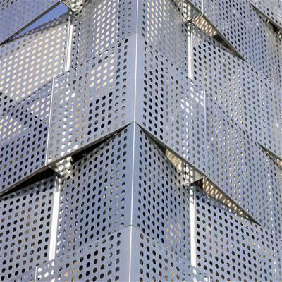 多功能厅冲孔铝单板安装_冲孔铝单板现货供应