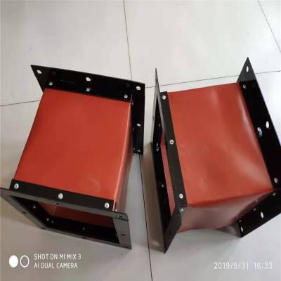 厂家定制 防静电水泥厂软连接 耐高温帆布软连接 耐高温防腐软连接
